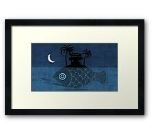 """Denpasar"" Illustration Toni Demuro Framed Print"