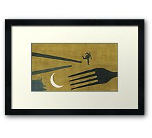"""Beijing"" Illustration Toni Demuro Framed Print"