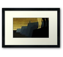 """Cape Town"" Illustration Toni Demuro Framed Print"