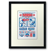 SMASH Fight Night Framed Print