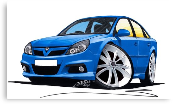 Vauxhall Vectra VXR Blue by Richard Yeomans