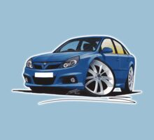 Vauxhall Vectra VXR Blue Kids Tee