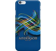 Anderson Tartan Twist iPhone Case/Skin
