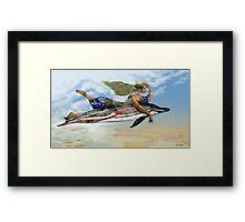 """""""Carmel"""" Illustration Denis Dubois Framed Print"""