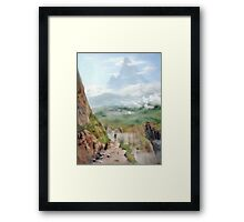 New Places Framed Print