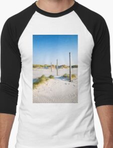 coastal dune Sankt Peter-Ording Men's Baseball ¾ T-Shirt