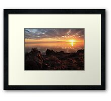 A Day's End Framed Print