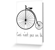 Dyke in bike Greeting Card