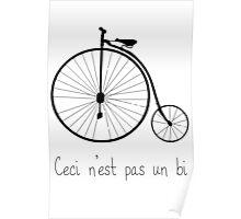 Dyke in bike Poster