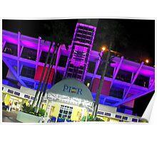 Purple Pier Poster