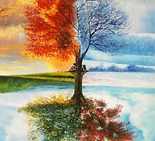 Tree Of Four Seasons by Creations of the Insane