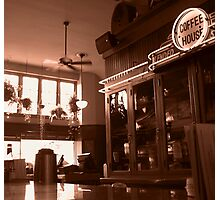coffee house Photographic Print