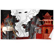 """Beijing"" Illustration Tarmasz Poster"