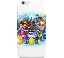 Smash Bros WII U QUEEN Size Duvet Cover-Other Sizes on my Page! (+Others!) iPhone Case/Skin