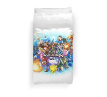 Smash Bros WII U QUEEN Size Duvet Cover-Other Sizes on my Page! (+Others!) Duvet Cover