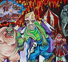 Freak Show - The Sinister Circus by Laura Barbosa