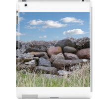 old stone wall in county Kerry Ireland iPad Case/Skin