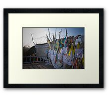 """Freedom Bridge"" - Korean DMZ Framed Print"