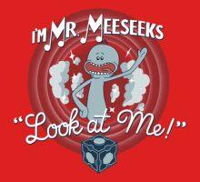 Merrie Mr. Meeseeks - shirt Kids Clothes