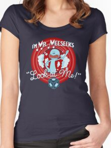 Merrie Mr. Meeseeks - shirt Women's Fitted Scoop T-Shirt