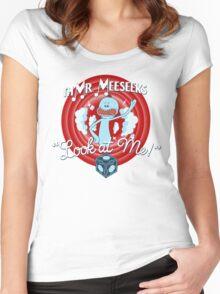Merrie Mr. Meeseeks - shirt Women's Fitted Scoop T-Shirt