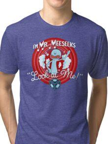 Merrie Mr. Meeseeks - shirt Tri-blend T-Shirt