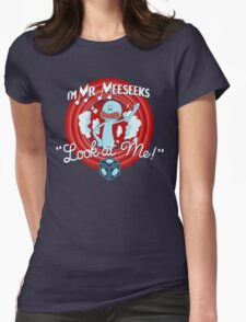 Merrie Mr. Meeseeks - shirt Womens Fitted T-Shirt