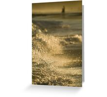 Afternoon Beachwalk Greeting Card