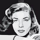 "Lauren Bacall ""I Am A Will Be"" by Victoria Ellis"