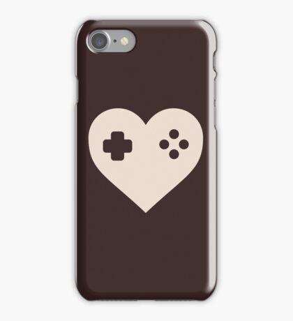 Gaming Heart XBOX Console PlayStation iPhone Case/Skin