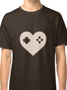 Gaming Heart XBOX Console PlayStation Classic T-Shirt