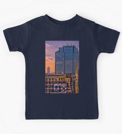 Boston skyscrapers Kids Tee