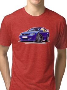 Vauxhall Astra (Mk4) '888' Coupe Blue Tri-blend T-Shirt