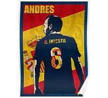 Iniesta  Poster