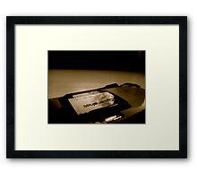 PhoneCamera Framed Print