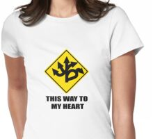 This Way To My Heart Womens Fitted T-Shirt