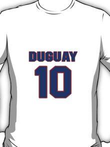 National Hockey player Ron Duguay jersey 10 T-Shirt