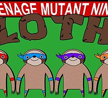 Teenage Mutant Ninja Sloths by ChrisButler