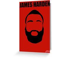 James Harden Greeting Card