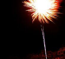 Carol's Fireworks @ Mount Barker 2 by Michael Humphrys