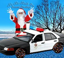 HO HO HOLD ON ..SEASONS GREETINGS..FUN HUMEROUS POLICE CARD AND OR PICTURE. by ✿✿ Bonita ✿✿ ђєℓℓσ
