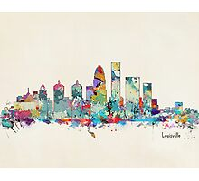Louisville Kentucky skyline Photographic Print