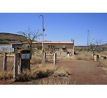 Doc Holidays Cafe, Wittenoom Photographic Print