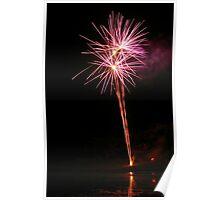 Carol's Fireworks @ Mount Barker 5 Poster