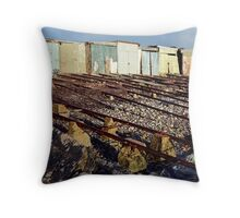 Boatsheds, Second Valley Throw Pillow