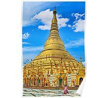 Shwedagon Pagoda. Poster
