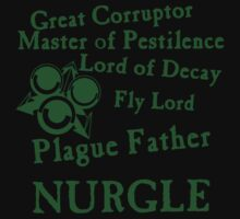 Nurgle, the Plague Father Green T-Shirt
