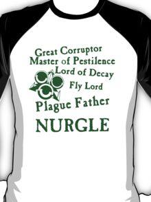 Nurgle, the Plague Father Green T-Shirt