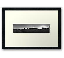 Kent Sunset Framed Print