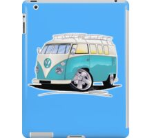 VW Splitty (Custom Blue) Camper Van iPad Case/Skin